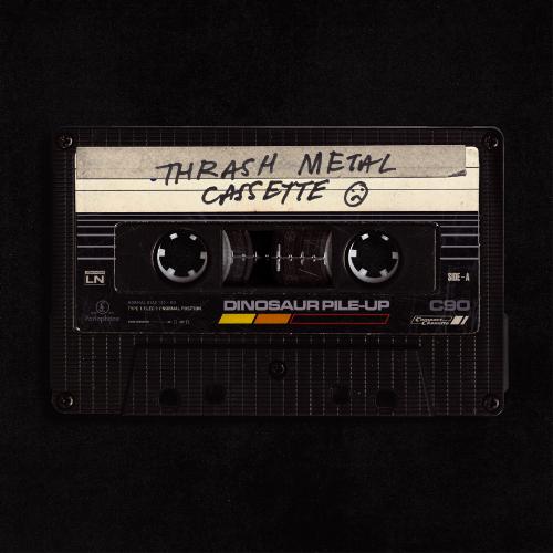 Dinosaur Pile-Up Thrash Metal Cassette